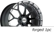 Concave Wheels forged1pc