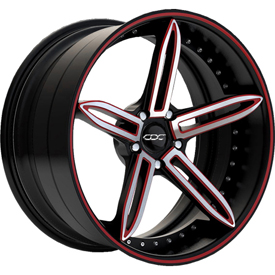 M16-Black-Red-Silver-Concave-wheel